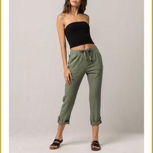 ROXY Symphony Lover Womens Linen Pants Size XS